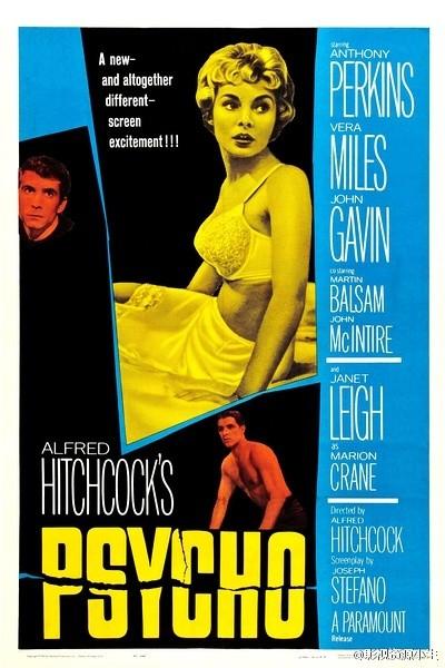 惊魂记 (网传全球十大恐怖片之一) 1960.HD720P 迅雷下载