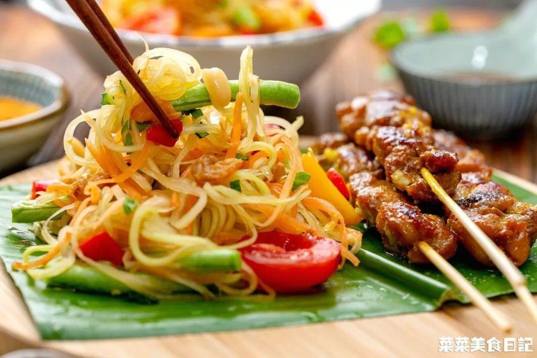 一招学会三道泰国菜!简单一包就搞定,一口一个开胃还省心