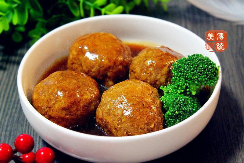 6种肉圆的做法,寓意团团圆圆,春节家宴必备菜