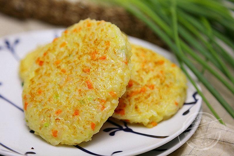 黄金米饼:营养丰富,口感软糯