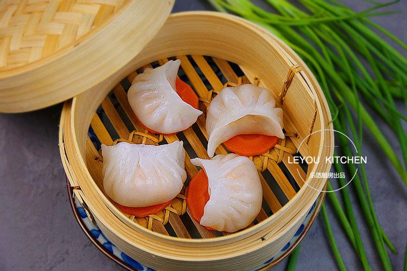 一道有颜又有料的饺子,Q弹滑嫩,必须多吃几个!