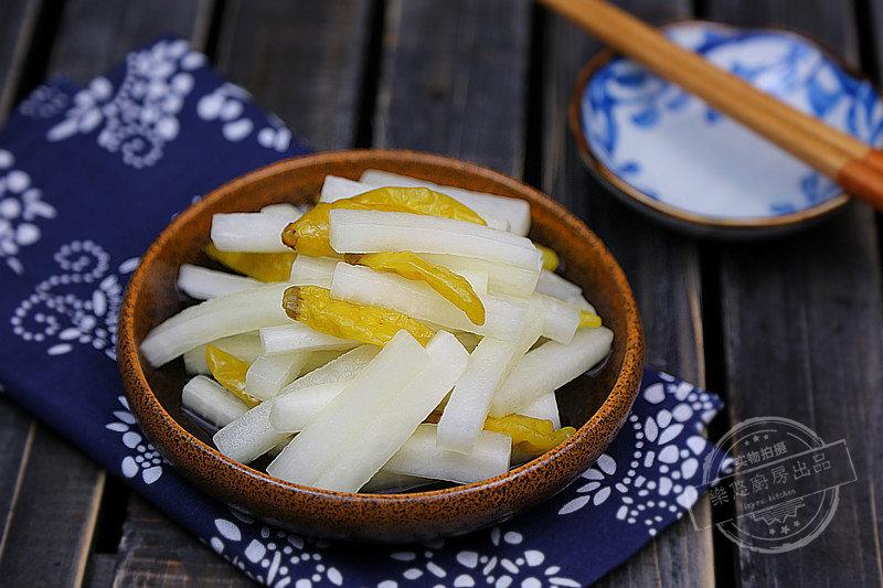几个小时就可以做好的健康泡菜  酸爽又开胃