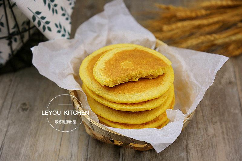奶香玉米饼  松软可口,几步就可以做好