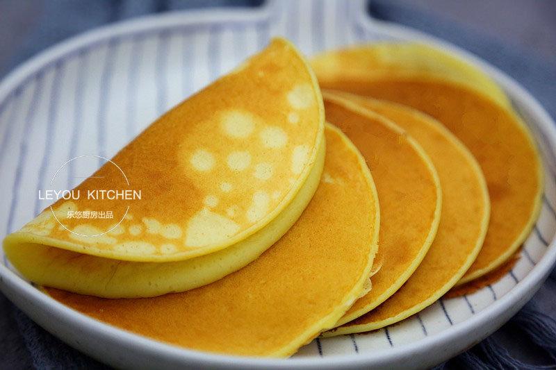 拌拌面糊就可以烙,10分钟早餐饼,有奶有蛋,营养齐全又松软