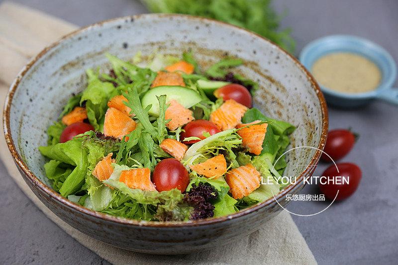 瘦身期间怎么吃很重要,5道瘦身沙拉,一次学会