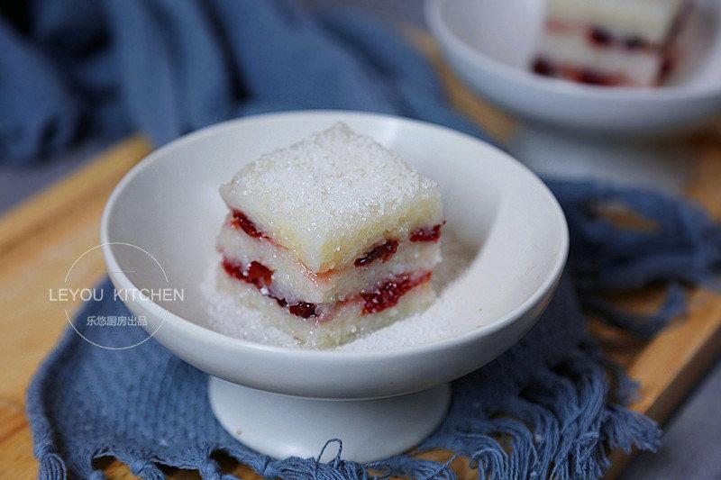 糯米凉糕:酸酸甜甜,软糯可口
