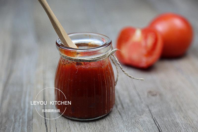 自己做的番茄酱,零添加又简单,抹在面包上吃超赞