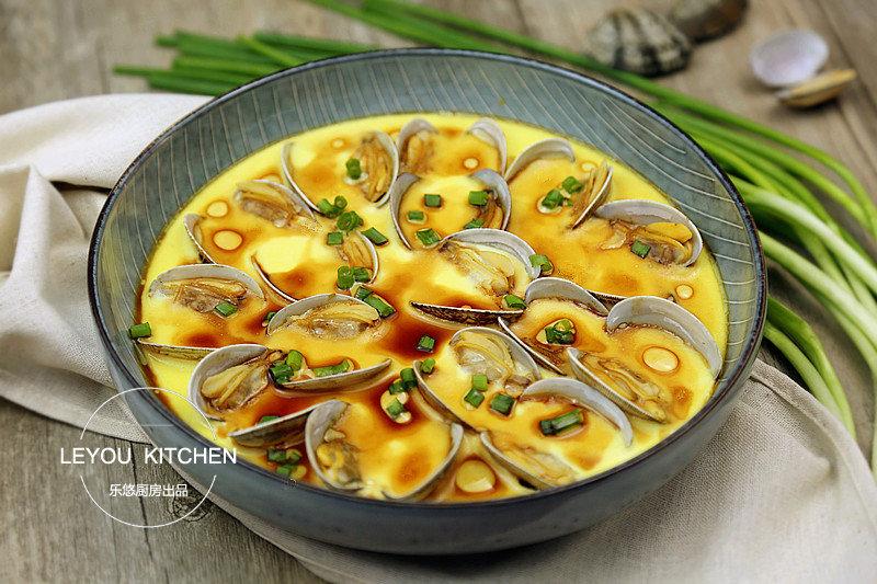 蛤蜊蒸蛋:味道鲜美无比