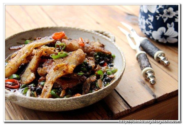 豉香剥皮鱼:佐粥下饭的无敌美味