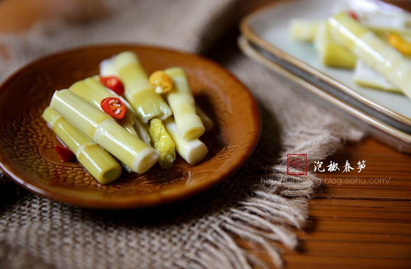 【春天里】泡椒春笋:留住春鲜美味