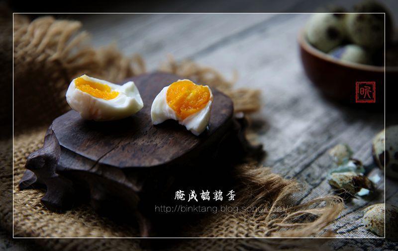 【腌咸鹌鹑蛋】立夏吃蛋,补夏养身