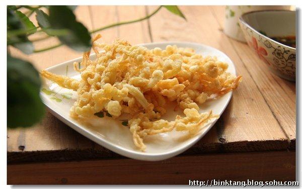 【酥炸金针菇】香酥美味的零食