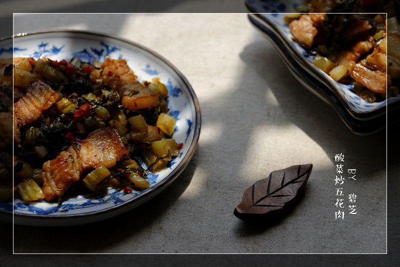 【酸菜炒五花肉】引爆味蕾的滋味下饭菜