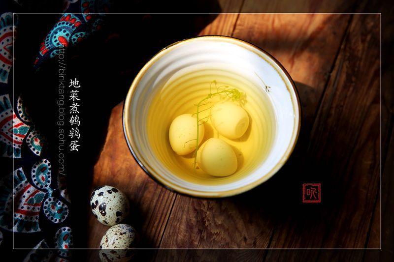 """地菜煮鹌鹑蛋:南方的阳春三月三,""""地菜当灵丹"""""""