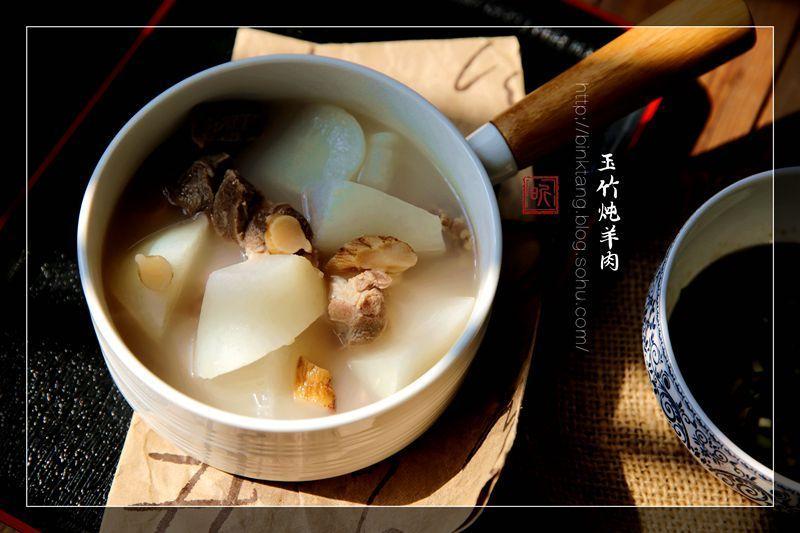 玉竹炖羊肉:一碗热汤抵风寒