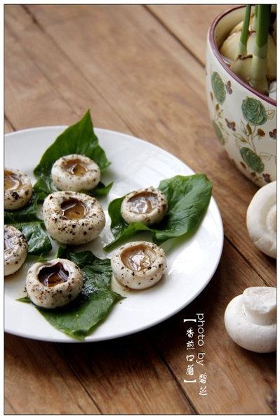 香煎口蘑:菌菇煎着吃的原汁原味