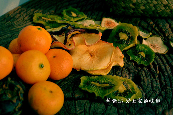 【感恩节】家庭的健康味道 自制生机水果干