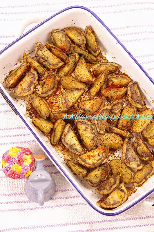 【韩食】花土豆的畅想曲 烤薯角
