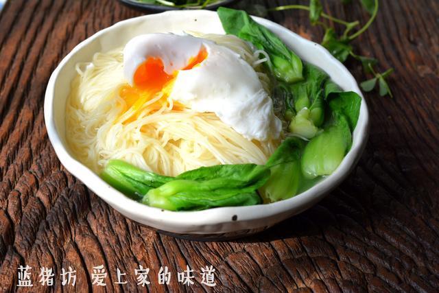 一碗青菜鸡蛋面,让你初春温暖如故
