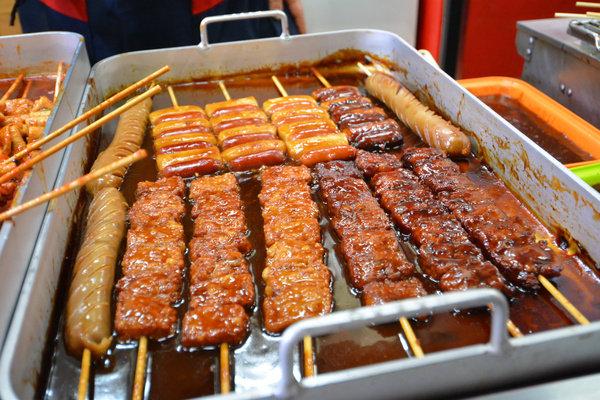 冬天不怕!热辣辣的首尔街头美食