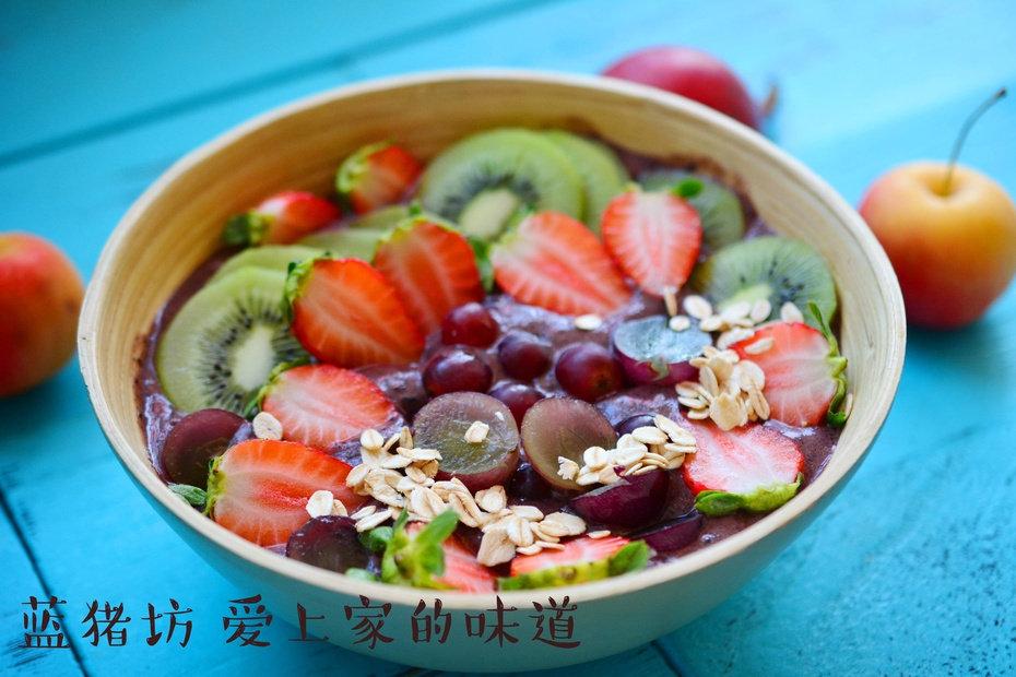 巴西莓网红碗,一碗超级抗氧化的健康水果泥