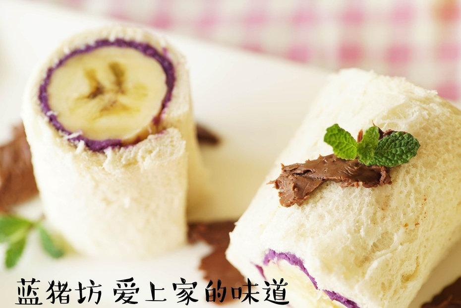 紫薯和香蕉做搭档,香甜好吃,嘎嘎香的家常小吃