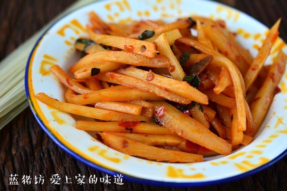 红油酸笋,夏天除湿的美味佳肴