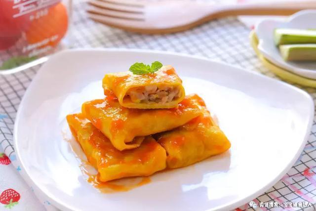 鲜香蛋饺:汁多皮薄,一裹一烙就出锅