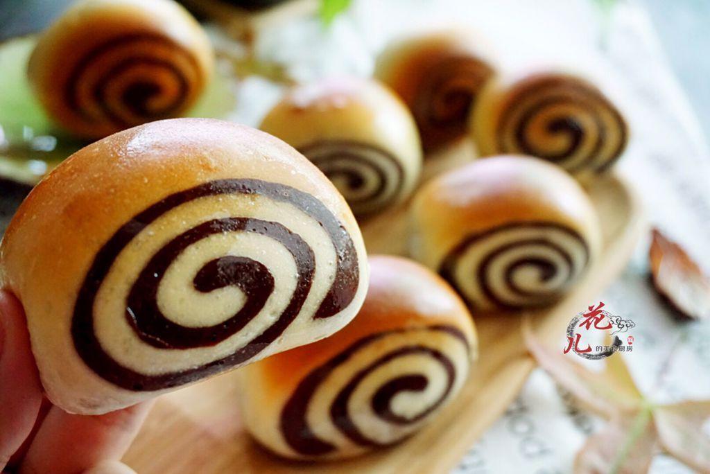 松软又甜香的双色蜂蜜面包,秋季里醉人的一抹甜