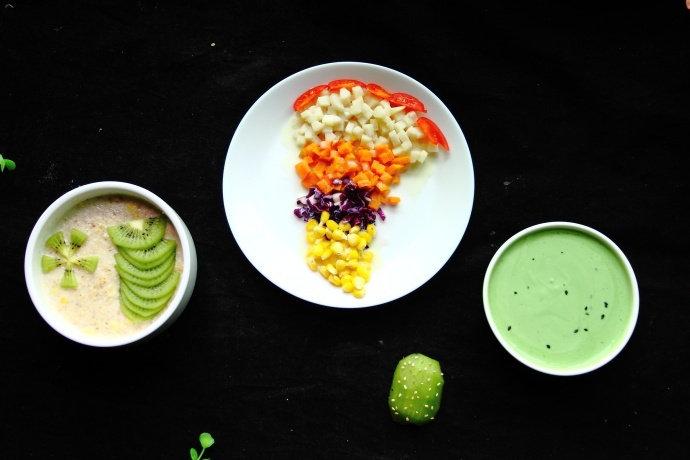 开学后,妈妈做一份快手营养早餐,超级简单,孩子吃完特开心!