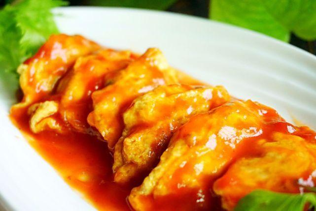 用鸡蛋包饺子,别说你没吃过,香软又开胃,好吃紧