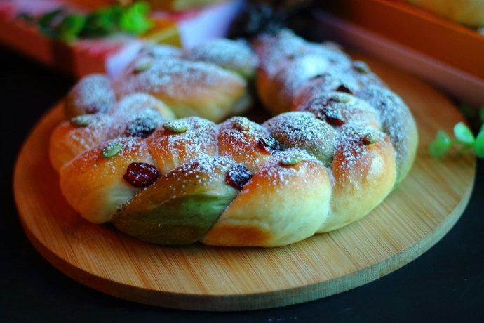 每年圣诞节都要给孩子做的一款面包,有颜值又柔软,送朋友都称赞