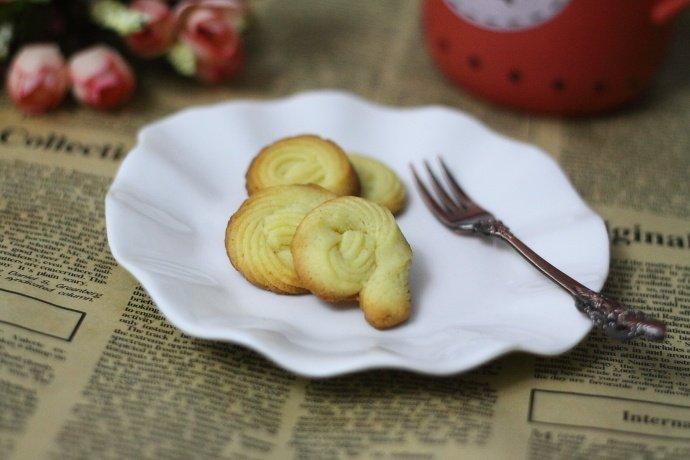 自制满口飘香的曲奇饼干,午后解馋小零食