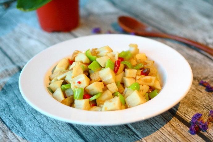 莲藕这样炒,方便快捷,开胃又下饭,不会做饭的人看了也能学会