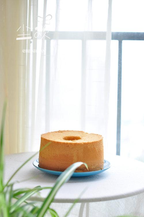 【早安】常用原料做美味蛋糕—-牛奶戚风