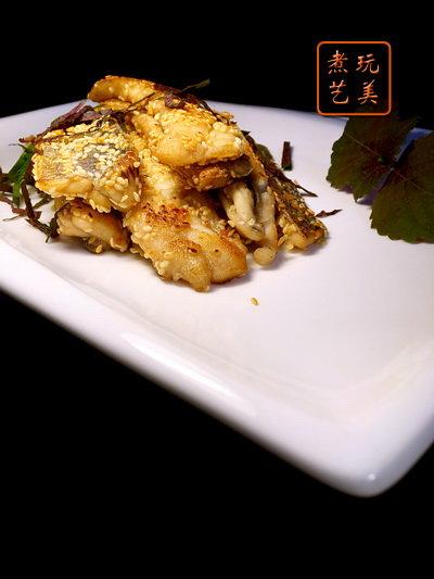 [爱秀食堂]紫苏带鱼柳&九层塔咸酥鱼