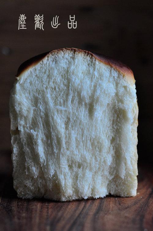 中种带来的柔软—-炼奶吐司