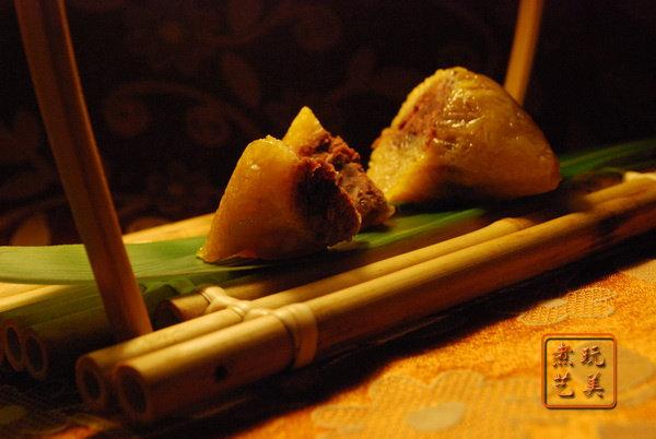 [端午]烧肉粽与豆沙粽对决粽情咸甜