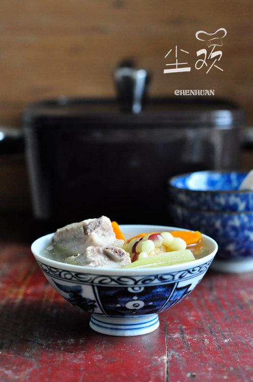为爱洗手做羹汤—–田园排骨汤