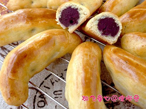 外酥里嫩 香甜软糯 紫薯香蕉酥 甜甜的宝宝美食 好吃到爆