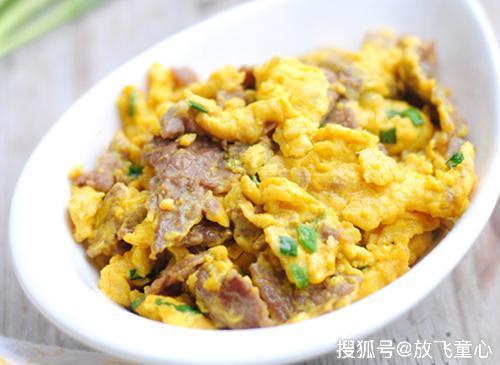 好吃又简单的滑蛋牛肉 香浓嫩滑 营养美味 不吃蛋的孩子也不挑食