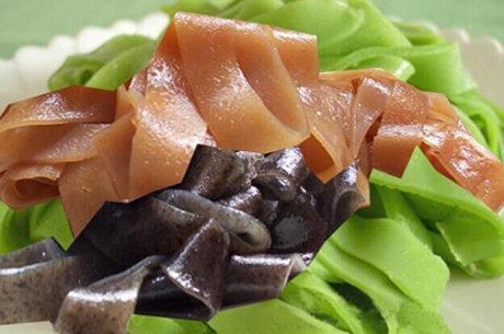 宝宝夏季食谱:彩色凉皮的做法 女孩子的美食