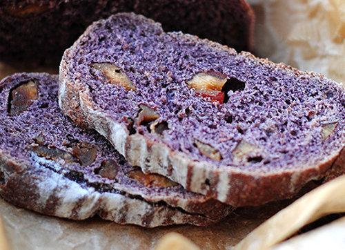 宝宝烘焙面包 全麦紫米枣香软欧包 热量低 口感好 早餐营养又健康