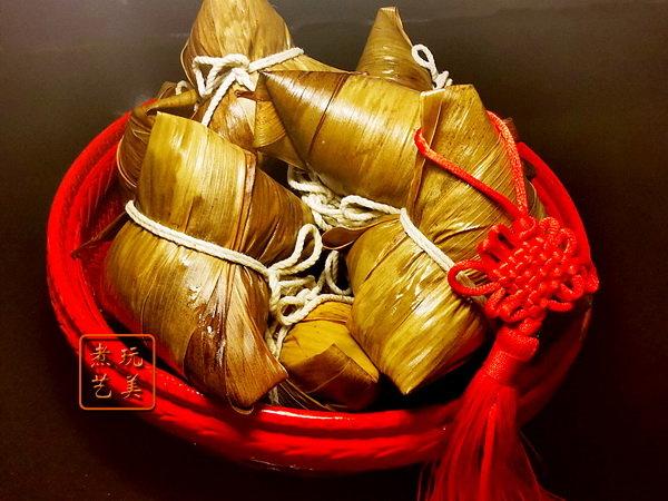 红藜糯米肉粽