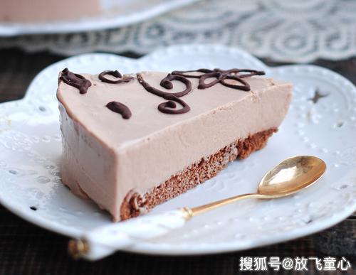 最适合夏季的人气甜品 巧克力乳酪慕斯蛋糕 香醇细腻 宝宝超爱吃