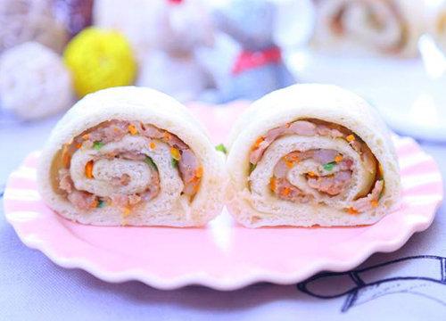清新爽口 肉香四溢 宝宝营养食谱 鲜肉萝卜卷的做法 简单快手好吃