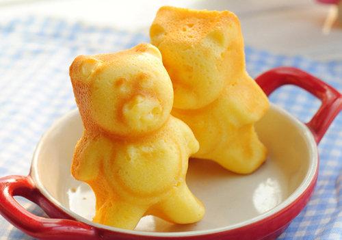 烘培入门 好吃又简单 可爱小熊蛋糕的做法 萌萌哒造型 宝宝超喜欢