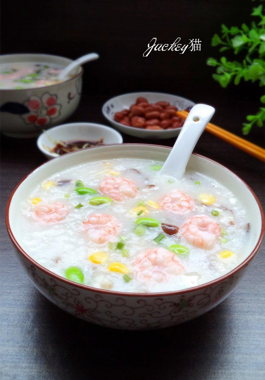 【国庆】清淡鲜美—蔬菜虾仁粥