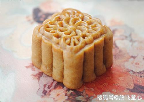 简单好吃的家庭月饼 栗蓉月饼的做法 清爽不油腻 孩子的中秋美食