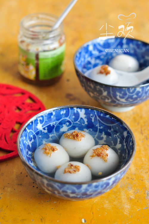 小时候最爱的中式甜品—–黑芝麻汤圆